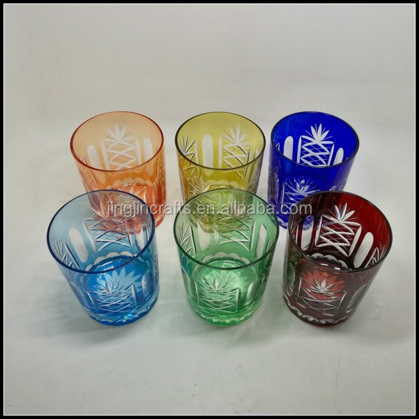 six color engraved drinking glass tumbler.jpg