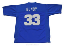 Hot Sale Football Jersey Soccer Player Uniform With Brand Embroidery Bundy 033