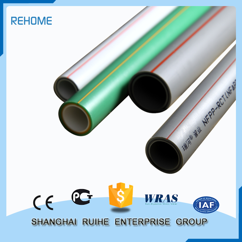 Factory Direct Wholesale New Style ppr pipe green glass fiber tube