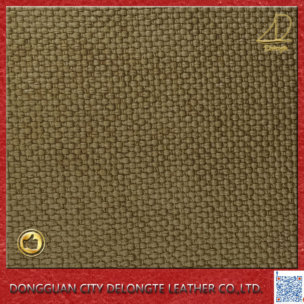 Double Velour Backing PVC Material Artificial leather for furniture