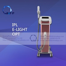 Frozen feeling!! new opt ipl shr hair removal machine for salon club