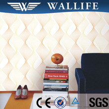 DF4022 decoration material home interior washable pvc 3d wallpaper
