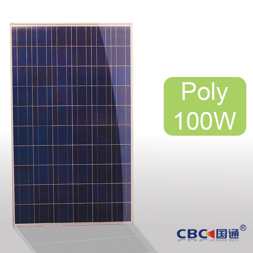 Poly Solar panel Solar Modules solar system cells 100w