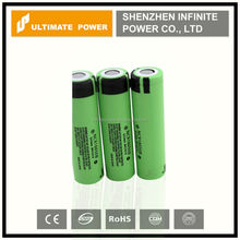 High capacity panasonic NCR18650B 3400mah 3.7v unprotected battery cell for best price