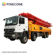 Used Putzmeister Concrete Pump Truck 38M excellent condition, Used PM concrete pump for sale