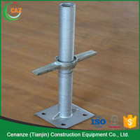 construction hollow screw jack for scaffolding