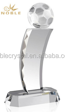 Blank Crystal Soccer Ball Awards Crystal Sports Trophy Cup