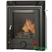 stove wood burning fireplace insert