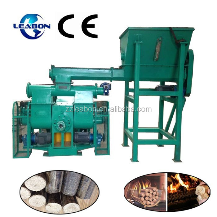 Wood Sawdust Briquette Press Machine Rice Husk Briquette Making Machine