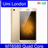 "UMi London 5.0"" HD IPS Smartphone Android 6.0 MTK6580 Quad Core 1.3GHz Cellphone 1GB 8GB 8MP OTG Mobile Phone"