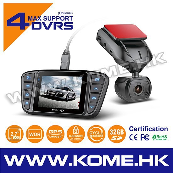HD 1080p car black box roof mount car camera CR900_A7