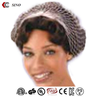 Nylon Mesh cap hair wrap bandana fabric hair net cap Netted hair for women low price wholesale made in china