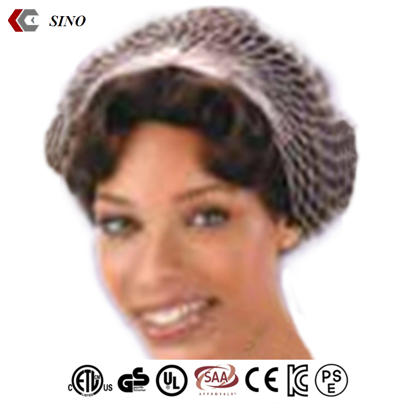 Nylon hair Mesh cap hair wrap bandana headband fabric hair net cap for women low price wholesale made in china
