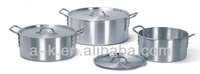 2014 High-quality China aluminum cooking pot with lid