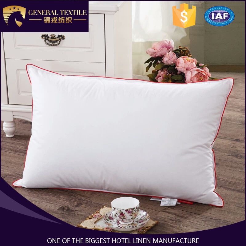 2017 new popular pillow cover embroidery design for hotel bedding set