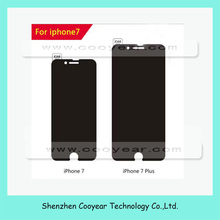 Privacy Tempered Glass Screen Protector For iPhone 7 7 Plus 2.5D