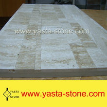 Cheap Outdoor Beige Travertine Stone Paver