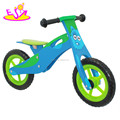 Newest design wooden toddler bicycle for training balance W16C062