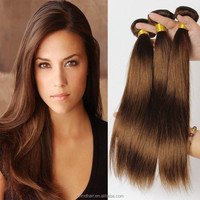 Light Brown Peruvian Hair Body Wave 3 pcs 8A Grade Honey Brown Hair Weave