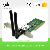 300mbps mini usb wifi wireless adapter lan network card with antenna desktop network card pci XMR-WK-1