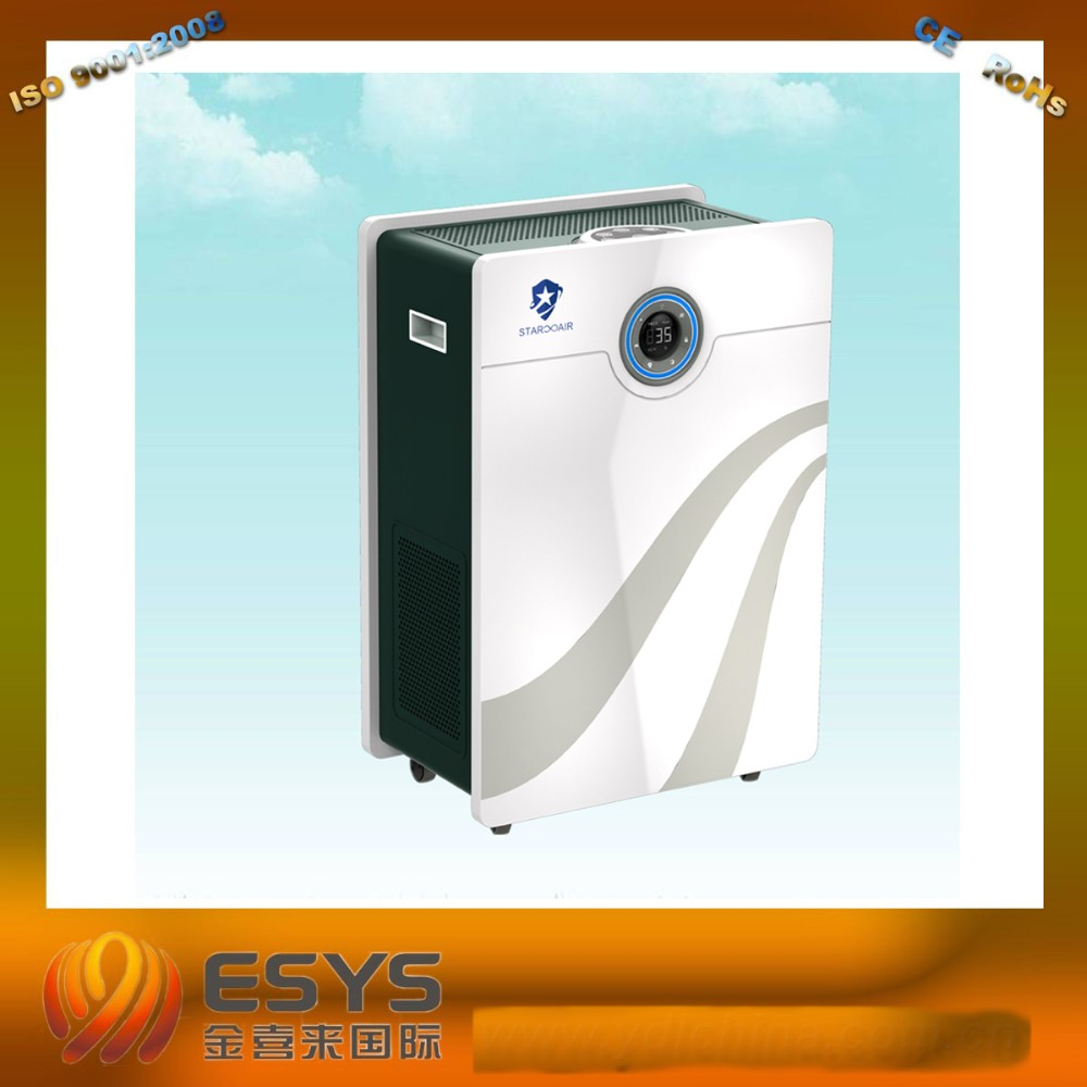 ECO friendly cleaning PM2.5 air purifier with intelligent APP control.