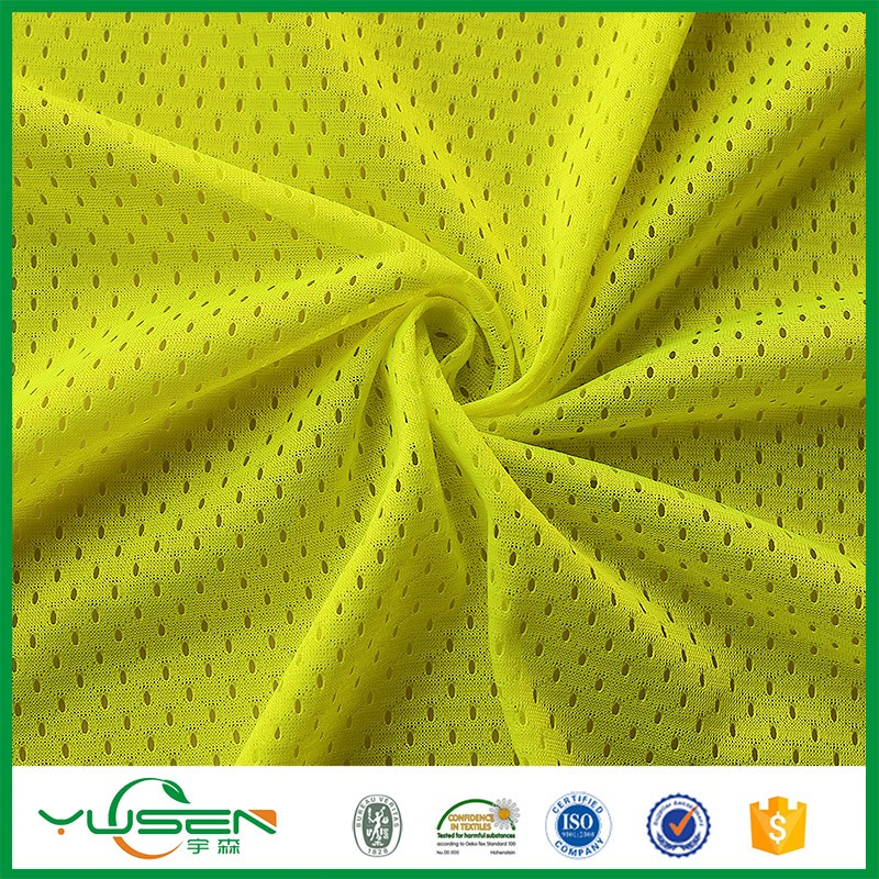 the medical mattress fabric moisture Mesh Football Jersey Fabric