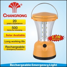 rechargeable camping lantern emergency solar lantern factory model CR-8026TPS