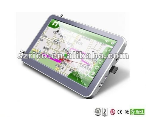 gps with bluetooth,av-in,FM