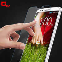 glass screen protector for lg g2 Mobile phone tempered film with retail package