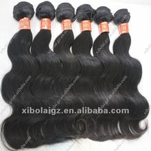 Human hair weaving water curl,wholesale tape hair extensions natural color, about 100g/pc