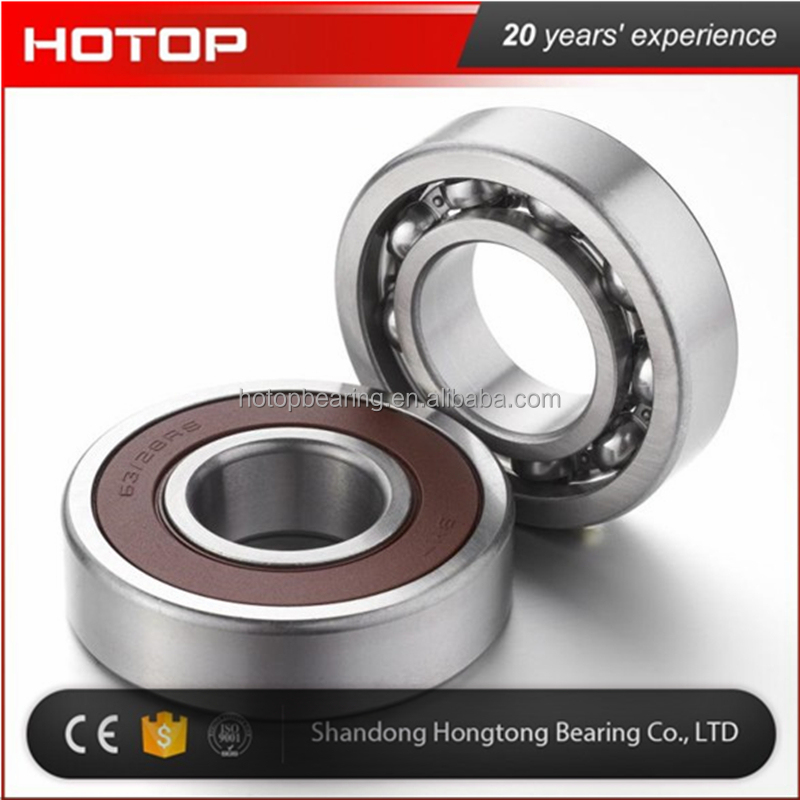 Deep groove ball bearing made in China 6300ZZ 6300-2RS bearing