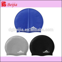 High quality ear potection rubber custom swimming cap silicone swimming caps in water sports