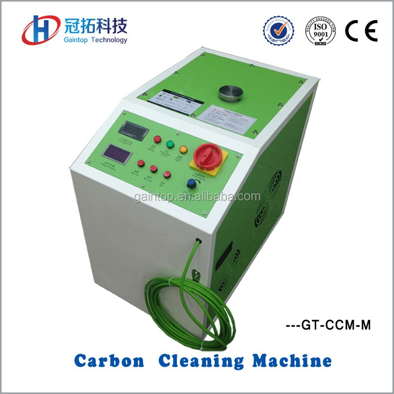 Hho brown gas generator principle of carbon clean machine for motor bicycle, motorbike