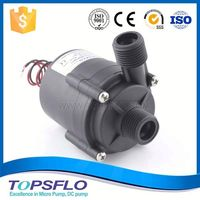 Circulation DC high pressure pump for bathroom electric shower water heater