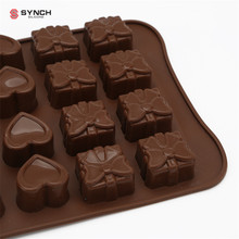 Silicone Gel Non-stick Chocolate Jelly and Candy Mold Cake Baking Mold