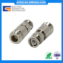 N Female to BNC Male RF Coaxial Connector Adapter