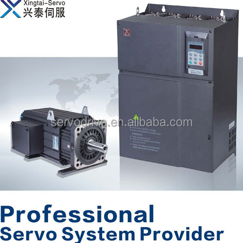 Servo drive and motor system