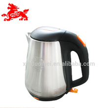 Malaysia stainless steel kettle and tea pot wide mouth tea water kettle electric 1.5