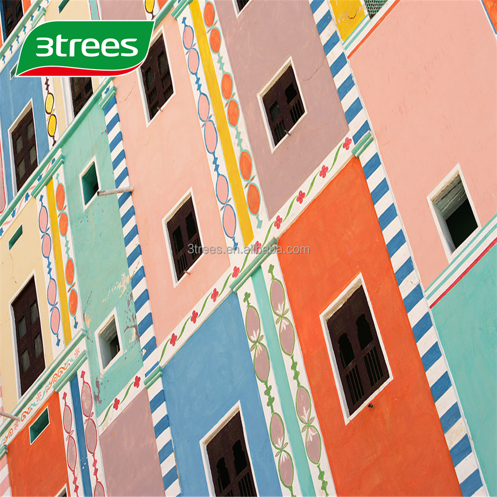 3TREES High Quality Anti-mould UV Resistant Exterior Wall Topcoat Varnish