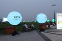 high quality advertising giant led balloons