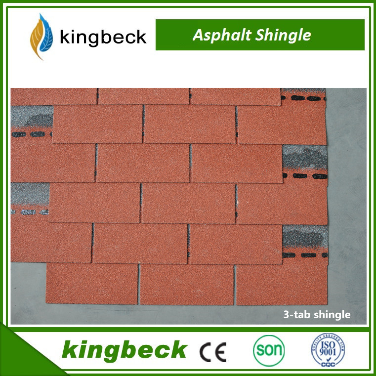 2016 Wholesale Asphalt Shingle Roof Suppliers/ Natural Stone Chip Coated Roof Tiles