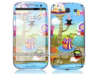 High quality cute funny cell phone case stickers for samsung galaxy