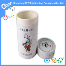Customized design Green tea paper box packing for loose tea