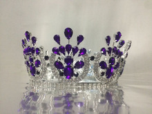 Full round crystal pageant <strong>crown</strong>