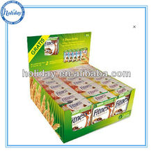 Retail store food/millk/ fruit juice pdq counter display,pdq tabletop display,pdq pallet display