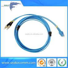 Outdoor fiber optic armored patch cord, SC to FC , moderate price.