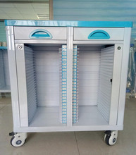 ABS hospital patient files trolley patient records cabinet