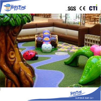 Toddler play equipment animal themed snail kids slide soft kids playground indoor playground