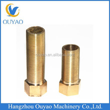 Brass Male Female Coupling for PPR/PVC/PE, Brass Long Nipple