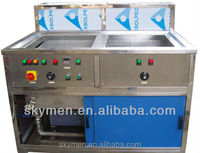 solar wafer solar panel cleaning equipment ultrasonic cleaner,2 tanks with optional rinsing tank